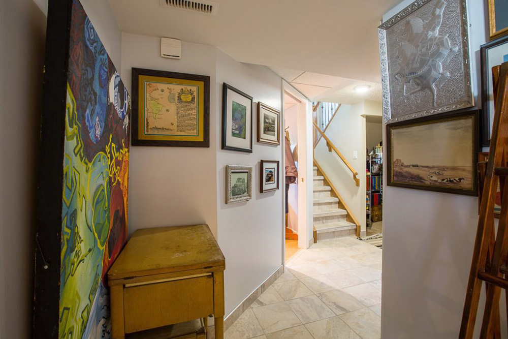 Basement Hallway - Cristal Renovations
